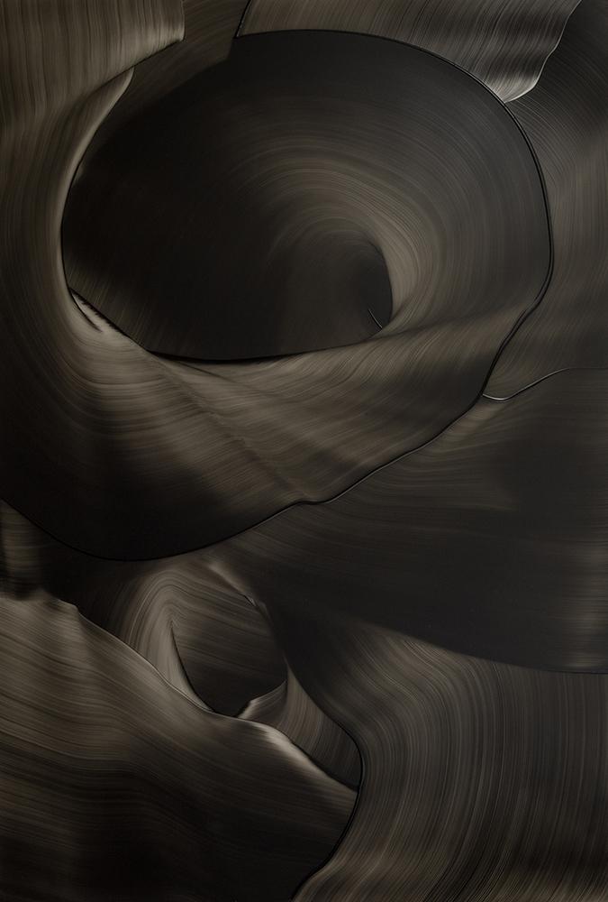 2012 Öl und Acryl auf Plexiglas, 100 x100 cm